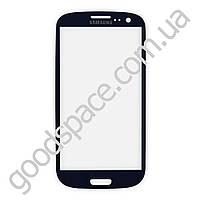 Стекло для Samsung i9300, цвет синий