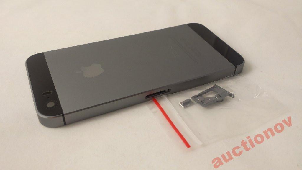 Корпус Apple iPhone 5S Space Gray