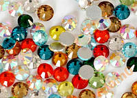 Стразы 100 шт стекло CRUSTAL LIZED SS8, 2,5 мм, микс