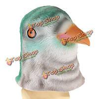Птица голову маску жутких животных Хеллоуин костюм театр опора