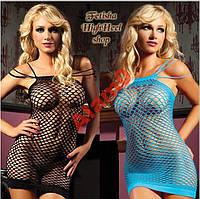 Сексуальное платье сеточка