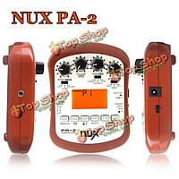 Нукс па-2 портативный процессор эффектов для акустической гитары