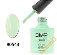 Гель-лак мятный зеленый ELITE99 7.3 мл 90543