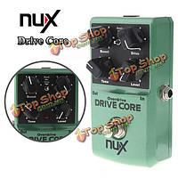 NUX привод ядро Овердрайв гитара эффект педаль