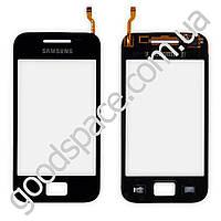Тачскрин (сенсор) Samsung S5830, большая или маленькая микросхема, цвет черный