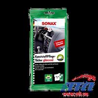 Салфетки для очистки пластика SONAX (10шт) (415100)