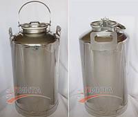 Бидон 40 литров с краном, для напитков, самогона