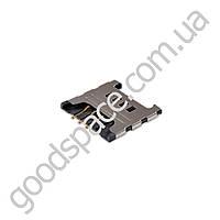 Слот для сим карты Samsung N7000, S5360