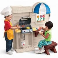 Интерактивная детская кухня с барбекю Little Tikes