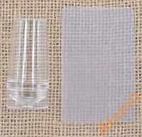 Штамп стемпинга силикон прозрачный с колпачком