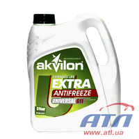 Антифриз G11 АКВИЛОН (-40) зеленый 4,3 кг