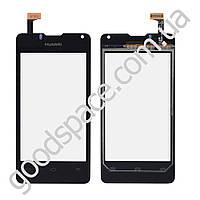 Тачскрин (сенсор) Huawei U8833, Y300, цвет черный, высокое качество