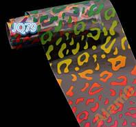 Переводная фольга литье 20 см цветные пятна