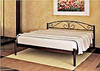 Кровать металлическая Верона, кровать Verona, Метакам. 80х200, прямоугольная