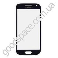 Стекло для Samsung i9190 Galaxy S4 mini, цвет черный