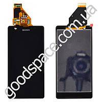 Модуль Sony C5502 (M36h) (C5503 (M36i)) Xperia ZR: дисплей + тачскрин (сенсор), цвет черный