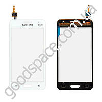 Тачскрин (сенсор) Samsung G355H Galaxy Core 2, цвет белый, на 2 sim карты, ревизия 3, копия высокого