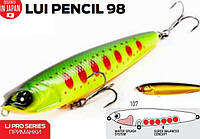 Воблер LJ PRO SERIES LUI PENCIL LUI98-107