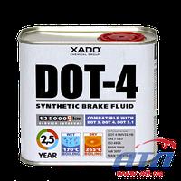 Тормозная жидкость  XADO DOT4 500мл (ХА50203)