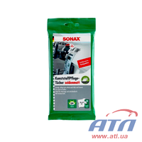 Салфетки для очистки пластика, матовый эффект SONAX (10шт) (415800)