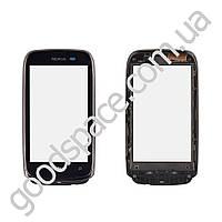 Тачскрин (сенсор) Nokia 610 Lumia, цвет черный