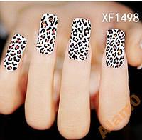 Водные наклейки слайды, леопард XF1498