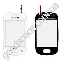 Тачскрин (сенсор) Samsung S5280, S5282, цвет белый