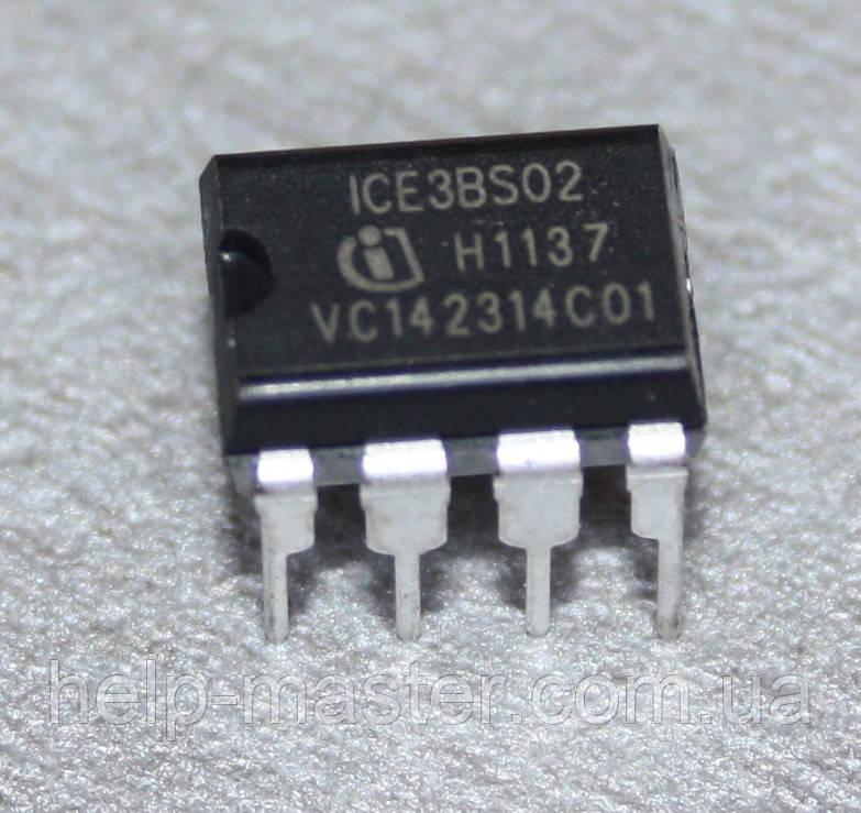 Мікросхема ICE3BS02; (DIP8)
