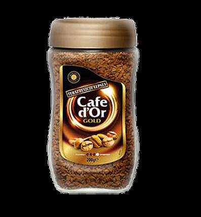 Кофе растворимый Cafe d'Or Gold 200гр. (Польша), фото 2