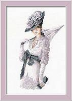 Набор для вышивания крестом «Мисс Элегантность» (1082), Риолис
