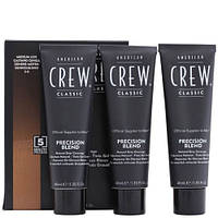 Краска для волос 5-6 уровень American Crew Precision Blend  Medium Ash 3x40 ml