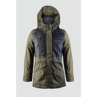 Куртка парка 163-86G-02-580 Оливковая