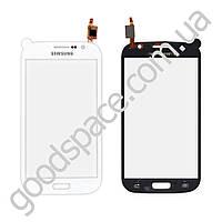 Тачскрин Samsung i9080, i9082 Galaxy Grand Duos, большая микросхема, цвет белый, копия высокого каче
