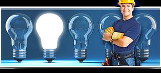 Лампи, кнопки, светоарматура, сигнальні лампи