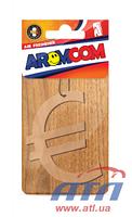 Ароматизатор AROMCOM Антикризис, евро, яблоко (000734)
