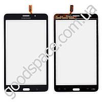 Тачскрин (сенсор) Samsung T231 Galaxy Tab 4 7.0, цвет черный