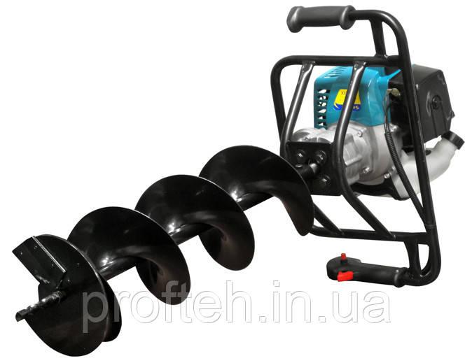 Мотобур бензиновый Sadko AG-52N (шнек 200 мм) Бесплатная доставка