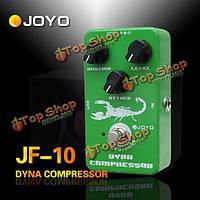 Джойо JF-10 динамический компрессор гитары педаль эффектов правда обход