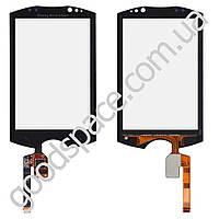 Тачскрин (сенсор) Sony Ericsson WT19i, большая или маленькая микросхема, цвет черный