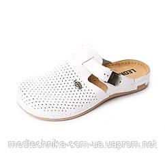 Медицинская обувь Leon Sabo 950, белый, р.36-41