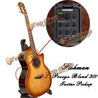 Фишман presys смесь 301 фолк акустической гитары микрофон прибивают доски