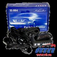 Датчик парковки BREES H004 (черный), 4 датчика(800026)