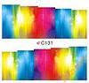 Слайдеры наклейки С131 радужное свечение 7х6,5 см