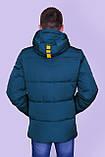 Чоловіча зимова куртка, кольору морської хвилі., фото 3
