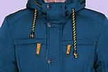 Чоловіча зимова куртка, кольору морської хвилі., фото 4