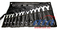 Ключи комбинированные TOPEX, 13-32 мм, набор 12 шт. (35D758)