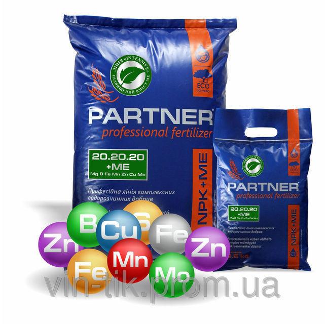 Удобрение PARTNER Intensive NPK 3.9.40 + ME (2,5 кг) (с повышенным содержанием калия, малоазотное)