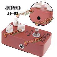 Джойо JF-03 Crunch искажения гитары педаль эффектов Маршалл усилительным каскадом