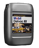 Mobil Delvac 5W-40 Синтетическое моторное масло для дизелей.