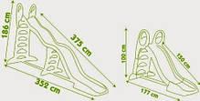 Детская мега-горка 2 в 1 Smoby Megagliss 375 см 310260, фото 2